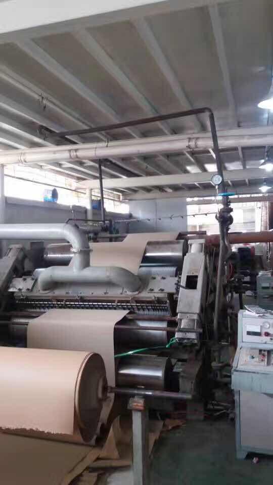 瓦楞纸单面机