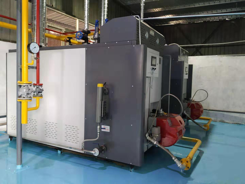 2吨天然气蒸汽发生器组合(超低氮)