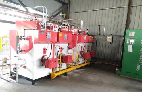 1吨天然气蒸汽发生器组合